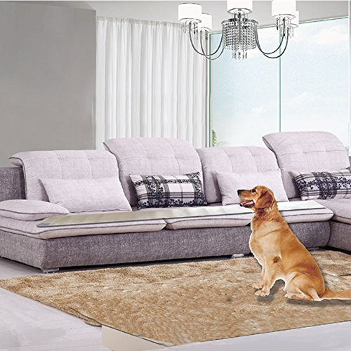 YOTRON Update Version Pet Training Mat Waterproof Dogs Shock Training Mat Keep Pets Off Furniture Sofa Pet Indoor use Cat Dog Repellent Mat ()