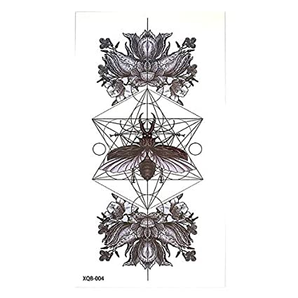 HXMAN 20 Diseños 5 Piezas Temporal Flor Brazo Tatuaje Pegatina Fox ...