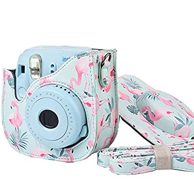 SAIKA Protective Case for Fujifilm Instax Mini 9 Instant Camera. Also Fits The Mini 8 and Mini 8+ Camera