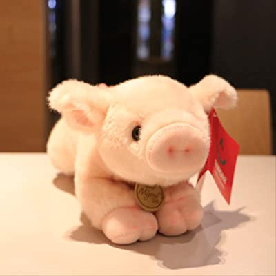 BEST9 Juguetes de Felpa, Juguetes de simulación Cerdo Rosa Lindo Q versión Felpa muñeca Rosa Cerdo Cerdo muñeca,, 39cm (Grande): Juguetes y juegos