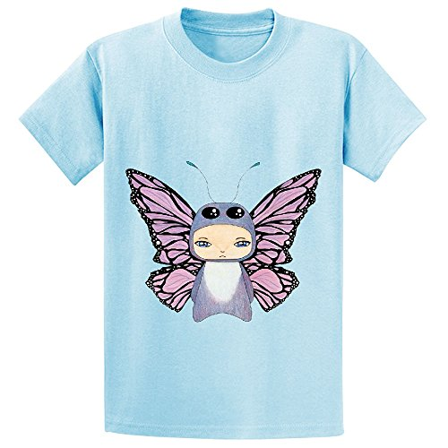 Chas A Boy Butterfly Unisex Crew Neck Print