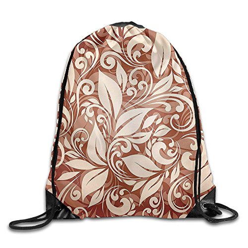 Guangzhou Artistic Floral Composition Stylized Tangled Elegant Pattern Unisex 3D Print Drawstring Backpack Shoulder Bags from Guangzhou