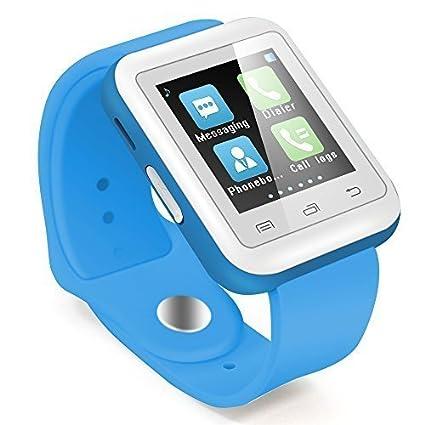"""Haehne Inteligente Reloj Bluetooth 3.0 del Teléfono Móvil del Reloj del Reloj, 1.44"""" TFT"""