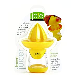 Joie Lemon and Lime Juicer and Reamer, Yellow