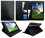 Sweet Tech ANOC 10.1 Inch Android Tablet Black Universal Wallet Case Cover Folio (10-11 inch)