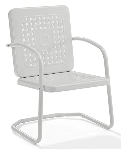 Delicieux Crosley Furniture Bates Chair In White Finish   Set Of 2
