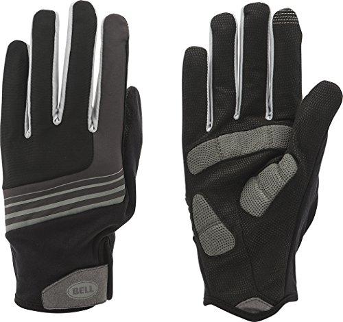 (Bell Scorch 850 Insulated Cycling Glove, Large/X-Large, Black/Silver)