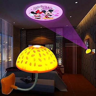 Creative Mushroom Ceiling Lights Magnetic Infrared Sensor LED Night Light and Touch Sensor LED USB Night Light
