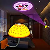 Sealive 1 pc Creative Mushroom Ceiling Lights Magnetic Infrared Sensor LED Night Light and Touch Sensor LED USB Night Light