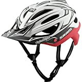 Troy Lee Designs A2 SRAM TLD Racing Mountain Bike Adult Helmet with MIPS Protection and X-Static Liner meets/exceeds CPSC CE-EN AS/NZS (Xsmall/Small, White/Red)