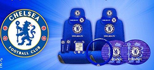 Chelsea Football Club Full Car Interior Accessory Set (12 pieces)