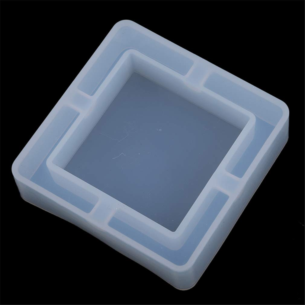 1 Stampo per Gioielli in Silicone a Forma di Cuore per posacenere Fai da Te in Resina As Description Q199 Wave Diamond SUNSKYOO