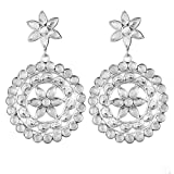 925 Sterling Silver glass stud earrings 13.73 g crystalcraftindia