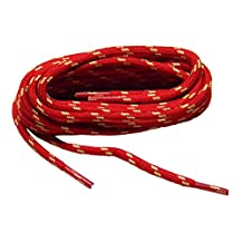 Red w/ Natural Yellow Kevlar(R) proTOUGH(TM) Boot Shoelaces -(2 pair pack)