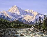 alaska painting - 8x10