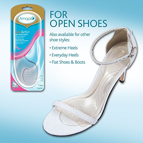 c2907cb47a1 Amope GelActiv Open Shoes Insoles for Women