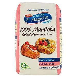 Le Farine Magiche - Manitoba, Farina - 5 pezzi da 1 kg [5 kg] 1 spesavip