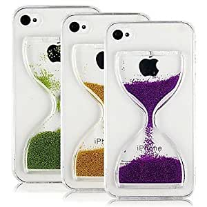 ZCL Flowing Hourglass Pattern Back Case for iPhone4/4S (Assorted Color) , Green