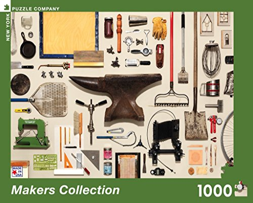Maker Jigsaw - New York Puzzle Company - Jim Golden Makers Collection - 1000 Piece Jigsaw Puzzle