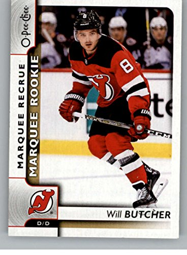 2017-18 O-Pee-Chee #636 Will Butcher NJ Devils Rookie Card RC From Upper Deck Series Two Packs