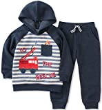 amazon headquarters - Kids Headquarters Baby Boys' Jog Pant Set, Navy Stripe, 18M