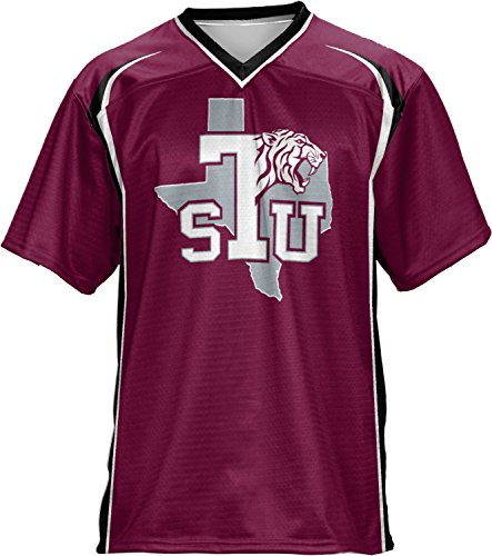ProSphere Texas Southern University Men's Football Jersey (Wild Horse) FCF41