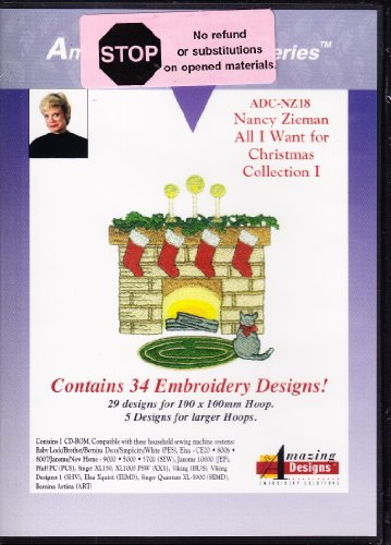 Amazing Designs Nancy Zieman All I Want for Christmas Collection (Nancy Zieman Collection)