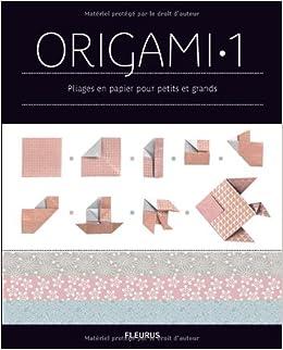 origami tome 1 pliages en papier pour petits et grands french edition z lal ayt re scheele. Black Bedroom Furniture Sets. Home Design Ideas