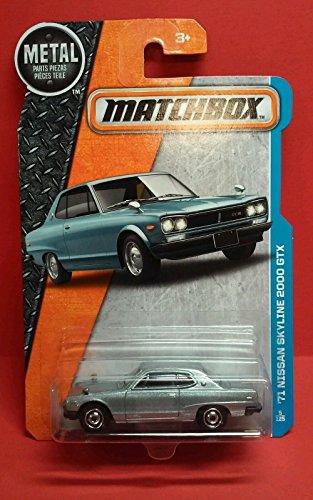 MATCHBOX '71 NISSAN SKYLINE 2000 GTX 5/125 NEW FOR 2016 RARE CAR