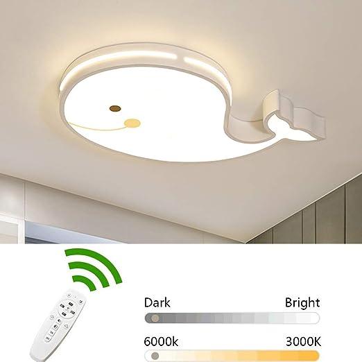 24W Lámpara de techo Habitación infantil Regulable con ...