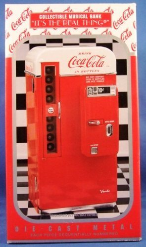 Coca Cola Vending Machine Musical Bank Vendo 1994 by Coca-Cola