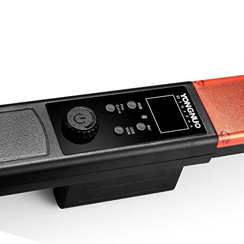 EACHSHOT YONGNUO YN360 Handheld LED Video Light 3200k 5500k RGB Colorful 39.5CM ICE Stick Professional Photo LED Stick Cleaning Cloth