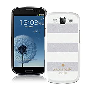 Most Popular Custom Samsung S3 Case Kate Spade New York Hard Plastic Phone Case For Samsung Galaxy S3 I9300 Cover Case 11 White