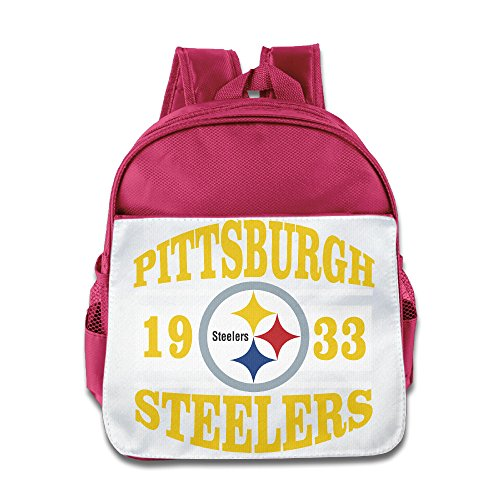 Patrick Costumes Danica (HYRONE Pittsburgh Logo Steelers Boys And Girls Schoolbag For 1-6 Years Old)