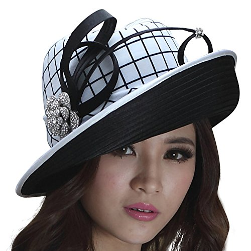 June's Young Women Hat Top Hat Vintage Hats Big Bow Stone...