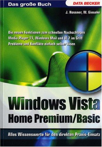 Windows Vista Home Premium/Basic