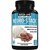 Cheap Lion's Mane Mushroom, PLUS-21-ADDITIONAL-NOOTROPICS, Brain Supplement, Energy Pills, PhosphatidylSerine, Ginkgo Biloba, Lemon Balm, Bacopa Monnieri, Nootropic Stack, Immune System Booster, No Caffeine