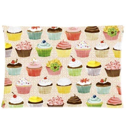 baixun Cute Cupcakes manta decorativa Funda de almohada ...