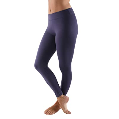 Aekonami Women's Seamless Basic Ultra Soft Buttery 7/8 Leggings at Amazon Women's Clothing store