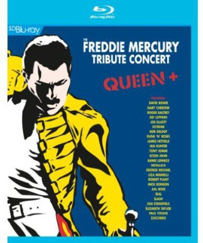 Blu-ray : David Bowie - Freddie Mercury Tribute Concert (Blu-ray)