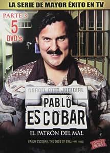 Pablo Escobar: El Patron Del Mal Parte 3 Reino Unido DVD