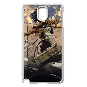 Mikasa Ackerman Attack On Titan Anime Samsung Galaxy Note 3 Cell Phone Case White Gift pjz003_3167971