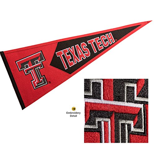 Winning Streak Texas Tech Red Raiders Wool Embroidered and Sewn Pennant