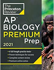 Princeton Review AP Biology Premium Prep, 2021: 6 Practice Tests + Complete Content Review + Strategies & Techniques (2021)