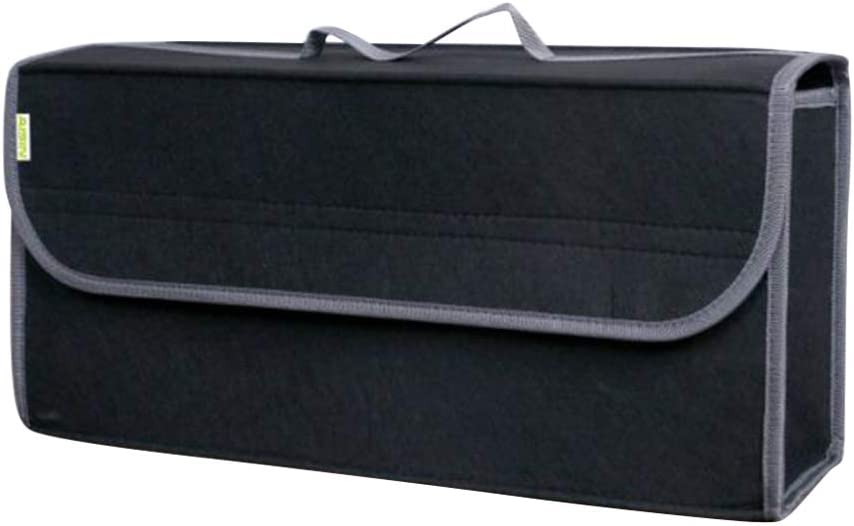 BESPORTBLE Bolsa de Almacenamiento de Coche Maletero Port/átil de Carga Organizador Plegable Caddy Herramientas de Ahorro de Espacio Bolsa de Contenedor para Veh/ículo de Cami/ón Negro