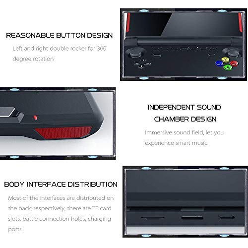 Goglor GPD XD Plus [2019 Update] Handheld Gaming Console 5.5'' Touchscreen Android 7.0 Portable Video Game Player Laptop,PowerVR GX6250 GPU,2GBDDR3+16GB EMMC,Support Google Store by Goglor (Image #4)