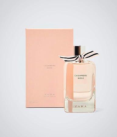 Amazoncom Zara Womens Cashmere Rose Eau De Parfum 34 Floz