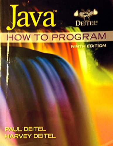 Java: How to Program, 9th Edition (Deitel) by Prentice Hall