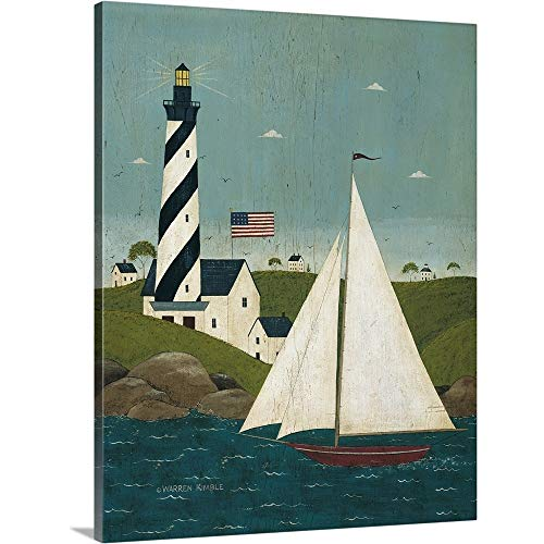 Coastal Breeze Canvas Wall Art Print, 24 x30 x1.25