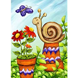 "Dtzzou Spring Animals Garden Flag 12"" x 18"" Outdoor & Indoor Decorative Double Sided Flag for Spring Summer Farm House Decoration"